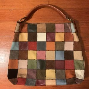 Lucky Brand vintage patchwork bag 🍀 SEND OFFERS🍀